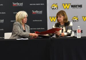 Northeast, Wayne State College Sign New Agreement In Support Of Industrial Technology Workforce
