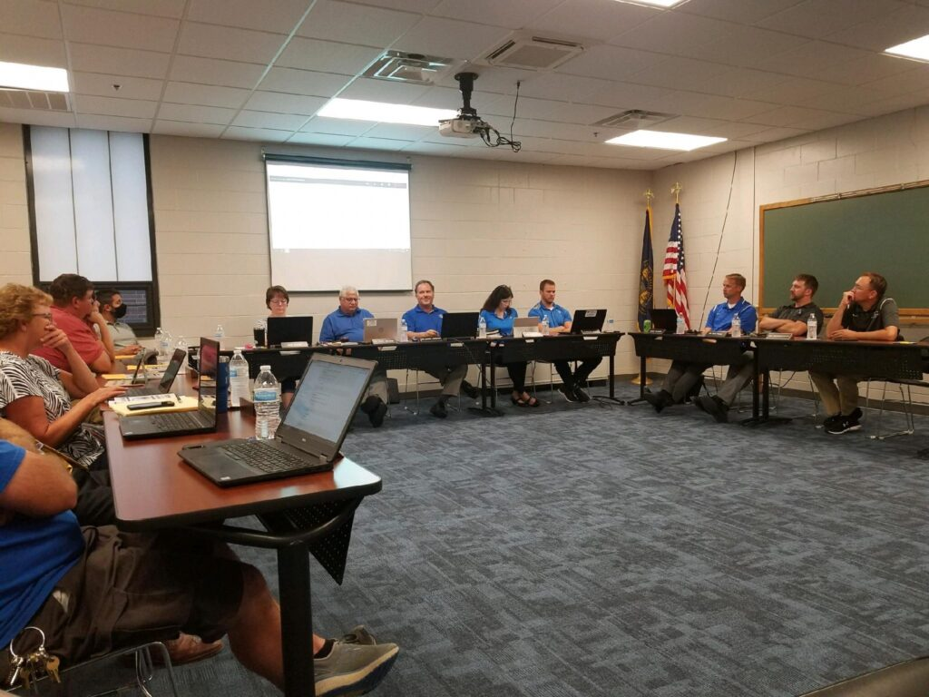 Board Of Education Addresses Standards, First Day Of School Was Wednesday