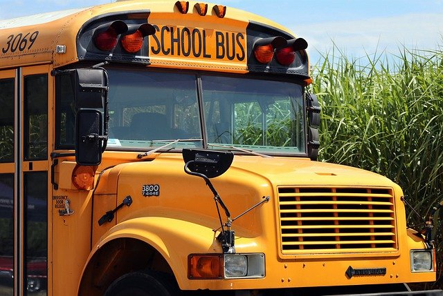 School Has Begun! Pay Extra Attention To School Buses Picking Up And Dropping Off