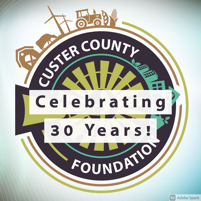Custer County Foundations 30 Years Of Service Celebration August 12