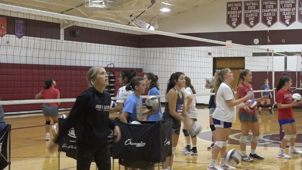 Wakefield Volleyball 'Excited To Show Off What They've Been Working On'
