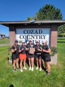 Broken Bow Girls Golf Wins Cozad Invite