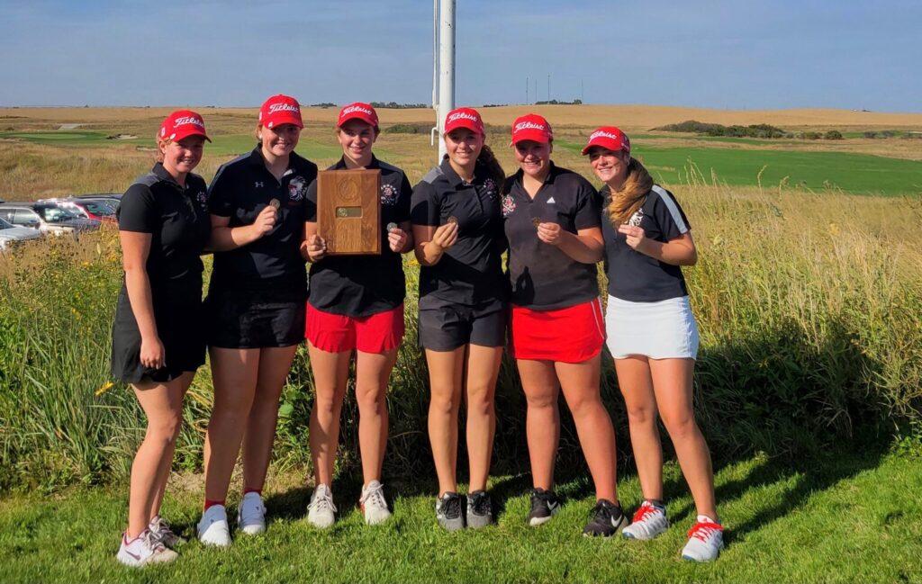 Broken Bow Wins Southwest Conference Girls Golf Championship