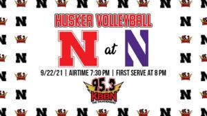 Nebraska Volleyball To Open Big Ten Play Against Northwestern