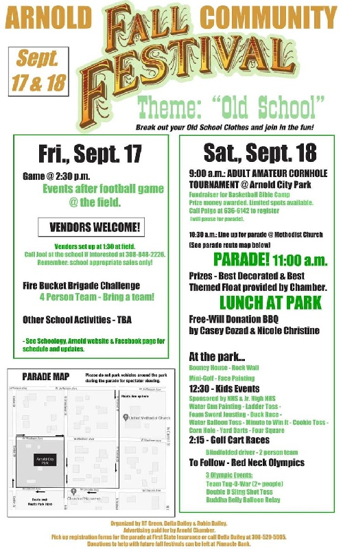 Arnold Hosting Community Fall Festival this Weekend