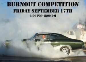 Cruise Main In Wayne To Feature Burnout Competition Friday