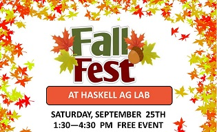 Demonstrations, Tours On Fall Fest Schedule Saturday