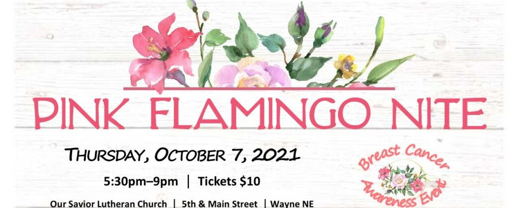 'Spread Kindness Like Wildflowers' During Pink Flamingo Nite On October 7, Deadline To Purchase Tickets Is Friday