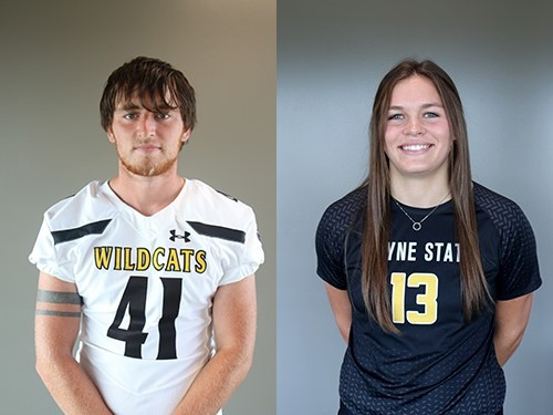 Powders Named Football Special Teams, Beller Earned Volleyball Defensive Player Of The Week Honors