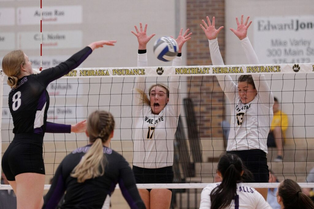 Wildcat Volleyball Opens Home Schedule With 3-0 Victory