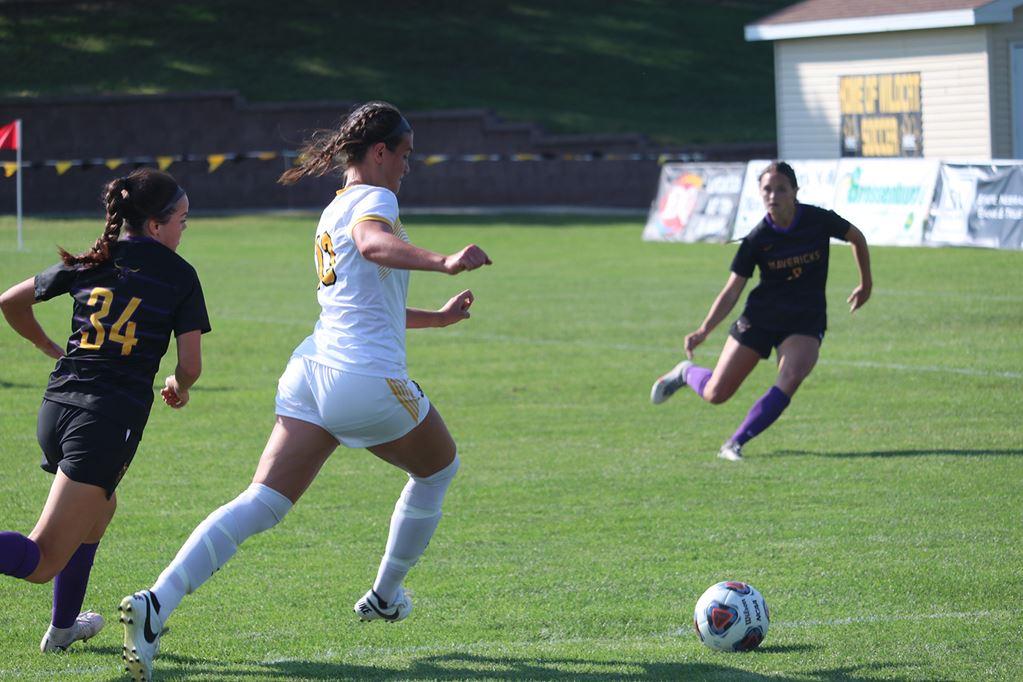 WSC Women's Soccer Suffers 2-1 NSIC Home Loss