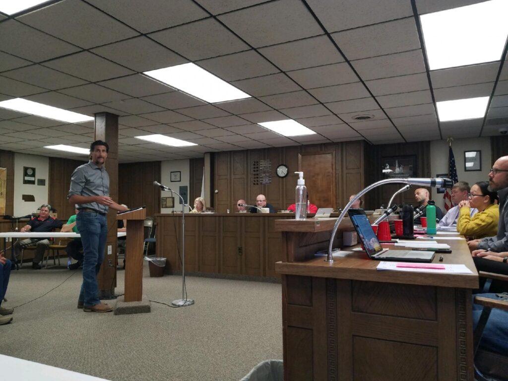 Council Extends Nebraska Street Improvement Project Warranty, Pine Heights Project Showing Delays
