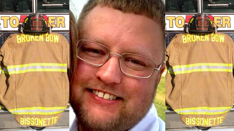Broken Bow Fire And Rescue To Escort James Bissonette Home