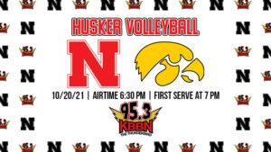 Nebraska Volleyball Faces Iowa on Wednesday