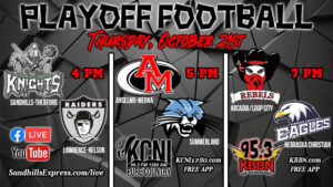 The 8 Man State Football Playoffs - Area Preview