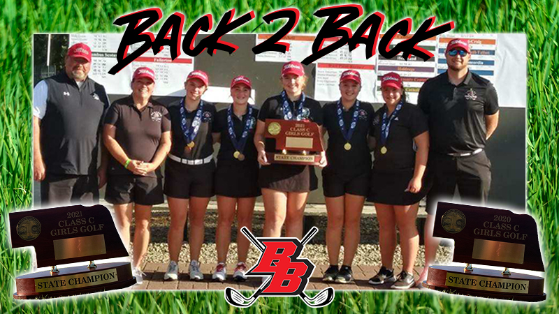 Girls Class C State Golf Day Two – Broken Bow Wins State Title for 2nd Straight Year