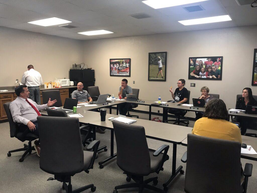 Broken Bow School Board Hosts Work Session Following Bond Project Press Conference