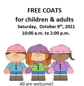 Free Coat Fair Saturday