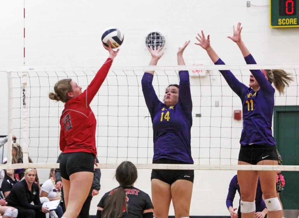 High School Volleyball Scores 10/12