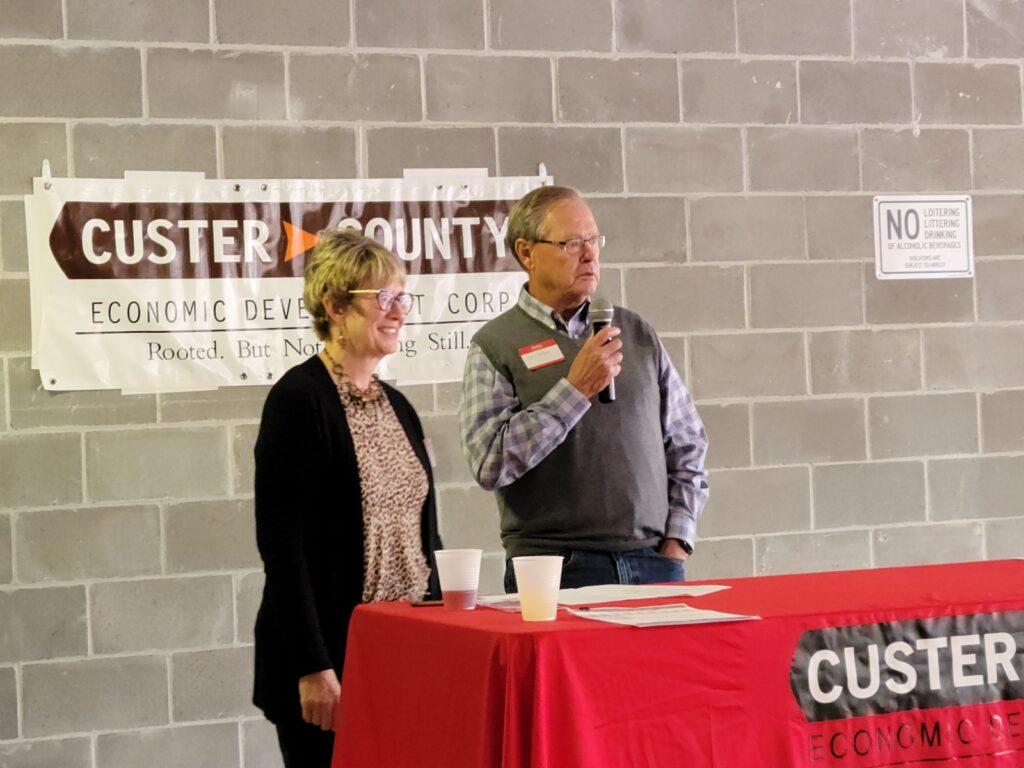 Custer Economic Development Presents Awards at Annual Picnic