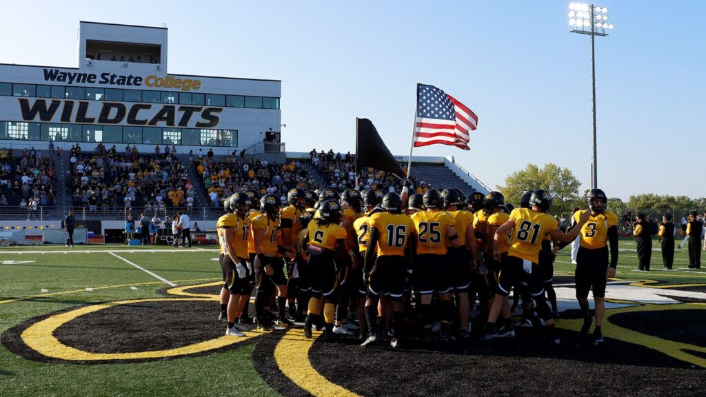 Wildcat Football Back On Road, NSIC South Division Game Number Two