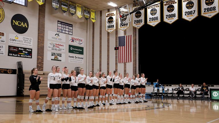 WSC Volleyball Sweeps 10th Opponent This Season