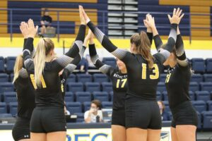 #5 Wayne State Volleyball Suffers Five-Set Road Defeat To #7 Concordia-St. Paul