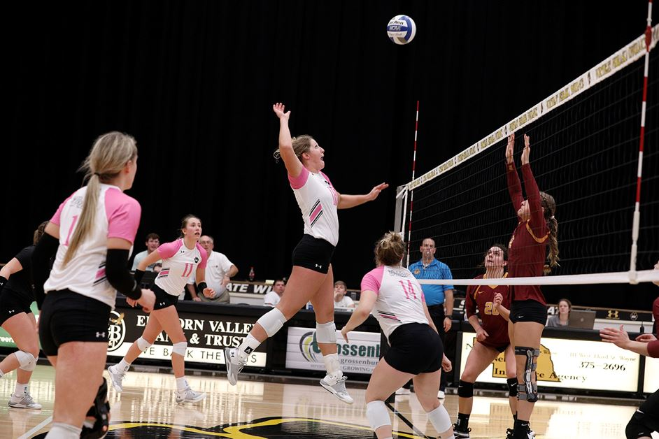 T-6th WSC Volleyball Chalks Up Another Sweep