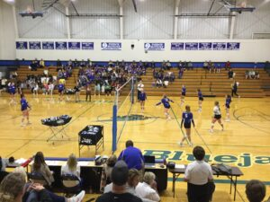 Saturday District Volleyball Pairings